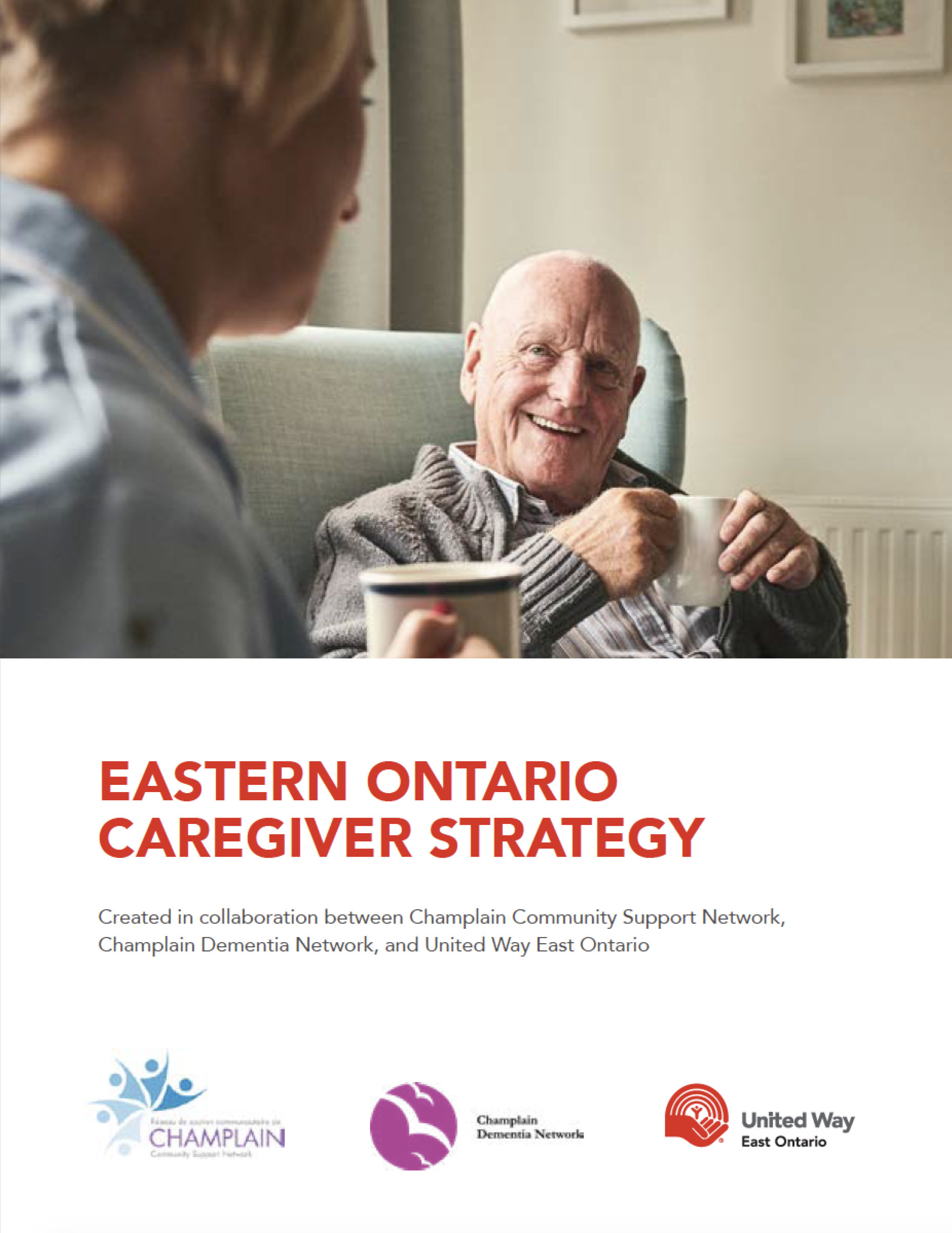 United Way East Ontario Caregiver Strategy Cover