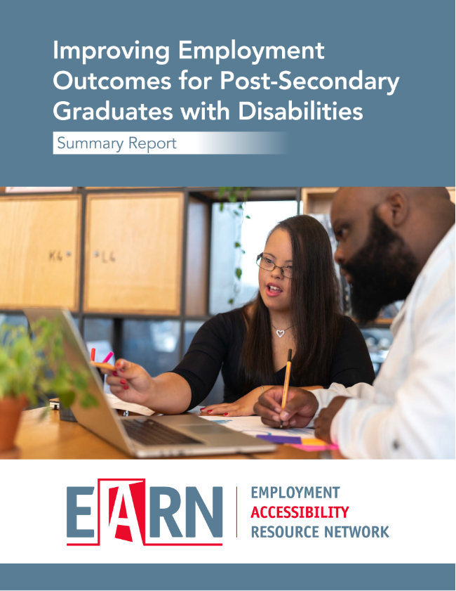 EARN report cover