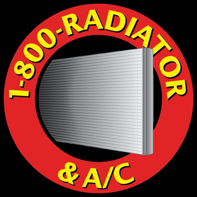 1800 Radiator - Circle Logo
