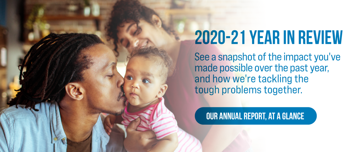 Our Annual Report At A Glance