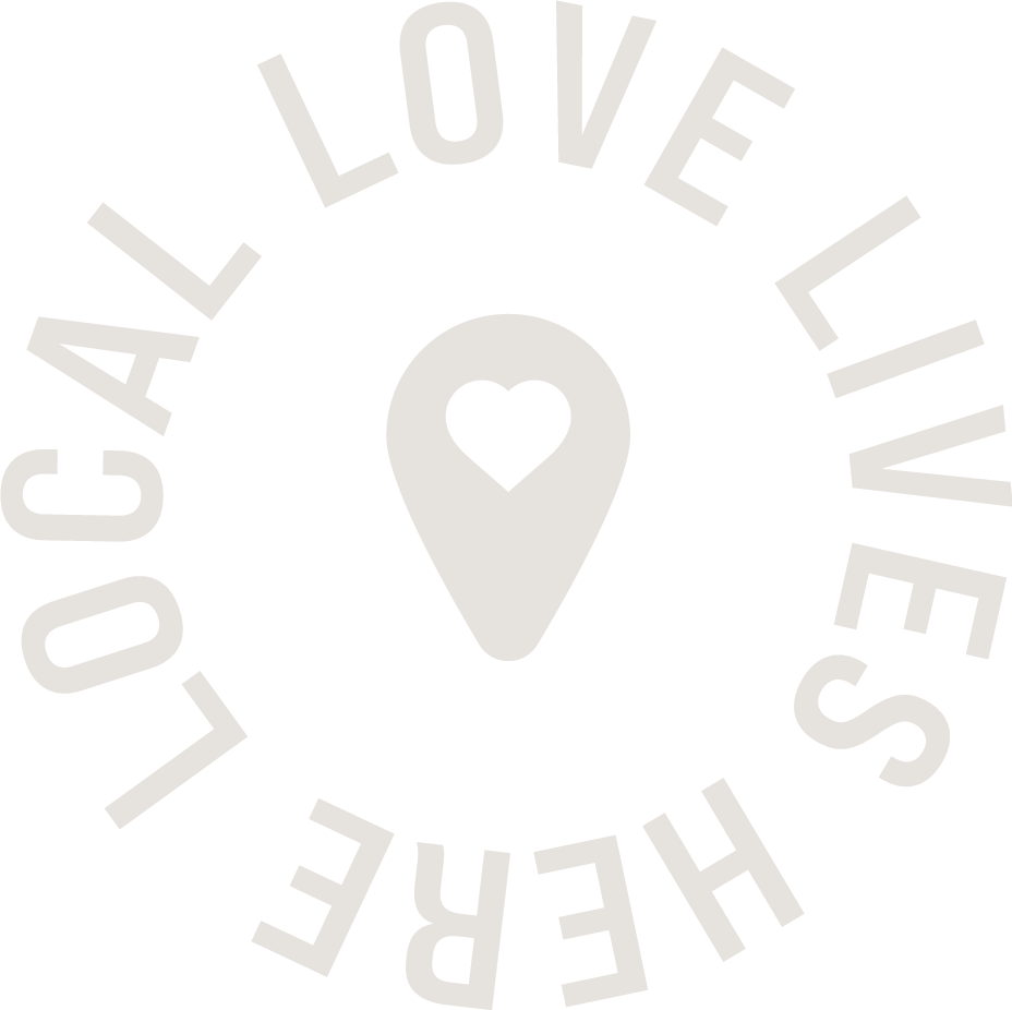 English Logo for Local Love Lives Here